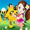 Игра для девочек Милый Тигрёнок бесплатно онлайн