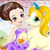 Игра для девочек Принцесса и Пони бесплатно онлайн