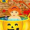 Игра для девочек Няня на Хэллоуин бесплатно онлайн