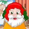 Причёска для Деда Мороза