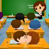 Игра для девочек Поцелуй в Классе бесплатно онлайн