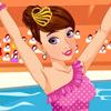 Игра для девочек Мода в Бассейне бесплатно онлайн