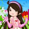 Игра для девочек Цветочная Принцесса бесплатно онлайн