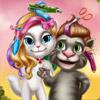 Игра для девочек Том и Анджела бесплатно онлайн