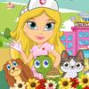 Игра для девочек Клиника Зверятам бесплатно онлайн